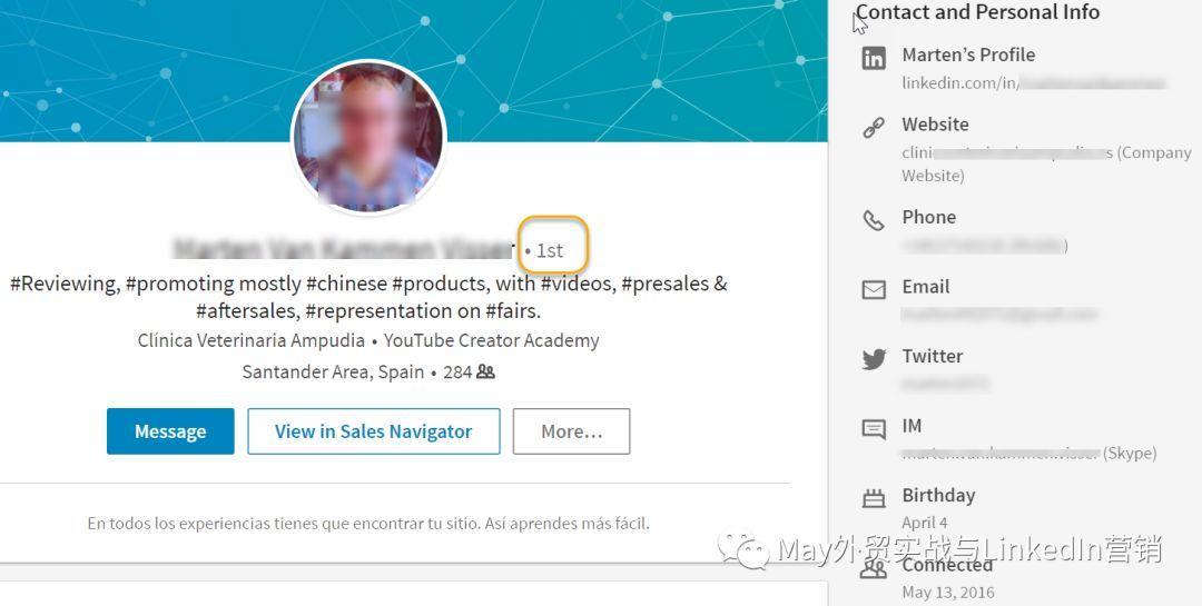 May领英营销:领英上如何撩客户,Follow 还是Connect